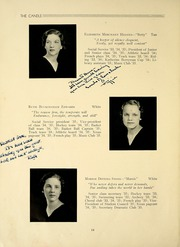 Page 14, 1935 Edition, Highland Hall School - Candle Yearbook (Hollidaysburg, PA) online yearbook collection