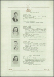 Page 10, 1949 Edition, McClure High School - Candlebeam Yearbook (McClure, PA) online yearbook collection
