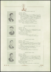 Page 11, 1949 Edition, McClure High School - Candlebeam Yearbook (McClure, PA) online yearbook collection