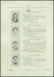 Page 12, 1949 Edition, McClure High School - Candlebeam Yearbook (McClure, PA) online yearbook collection