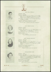 Page 13, 1949 Edition, McClure High School - Candlebeam Yearbook (McClure, PA) online yearbook collection