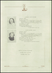 Page 15, 1949 Edition, McClure High School - Candlebeam Yearbook (McClure, PA) online yearbook collection