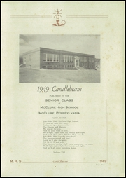 Page 3, 1949 Edition, McClure High School - Candlebeam Yearbook (McClure, PA) online yearbook collection