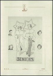Page 9, 1949 Edition, McClure High School - Candlebeam Yearbook (McClure, PA) online yearbook collection