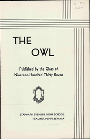 Page 9, 1937 Edition, Evening High School - Owl Yearbook (Reading, PA) online yearbook collection