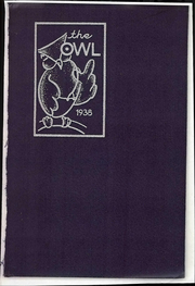 1938 Edition, Evening High School - Owl Yearbook (Reading, PA)