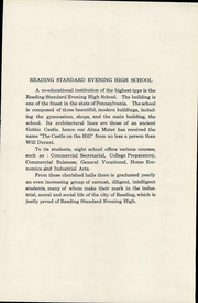 Page 10, 1938 Edition, Evening High School - Owl Yearbook (Reading, PA) online yearbook collection
