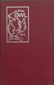 1939 Edition, Evening High School - Owl Yearbook (Reading, PA)