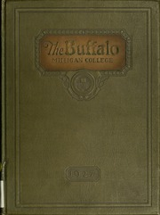 Milligan College - Buffalo Yearbook (Elizabethton, TN) online yearbook collection, 1927 Edition, Page 1