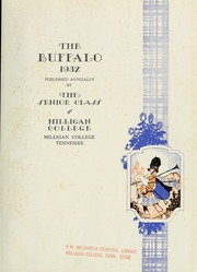 Page 7, 1932 Edition, Milligan College - Buffalo Yearbook (Elizabethton, TN) online yearbook collection