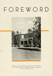 Page 10, 1937 Edition, Milligan College - Buffalo Yearbook (Elizabethton, TN) online yearbook collection