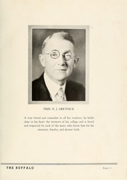 Page 15, 1937 Edition, Milligan College - Buffalo Yearbook (Elizabethton, TN) online yearbook collection
