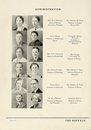 Page 16, 1937 Edition, Milligan College - Buffalo Yearbook (Elizabethton, TN) online yearbook collection