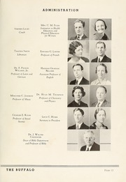 Page 17, 1937 Edition, Milligan College - Buffalo Yearbook (Elizabethton, TN) online yearbook collection