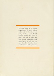Page 6, 1937 Edition, Milligan College - Buffalo Yearbook (Elizabethton, TN) online yearbook collection