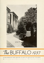 Page 7, 1937 Edition, Milligan College - Buffalo Yearbook (Elizabethton, TN) online yearbook collection