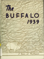 Milligan College - Buffalo Yearbook (Elizabethton, TN) online yearbook collection, 1939 Edition, Page 1