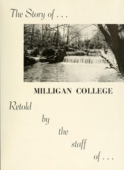 Page 5, 1954 Edition, Milligan College - Buffalo Yearbook (Elizabethton, TN) online yearbook collection