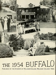 Page 6, 1954 Edition, Milligan College - Buffalo Yearbook (Elizabethton, TN) online yearbook collection