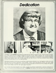Page 12, 1987 Edition, Milligan College - Buffalo Yearbook (Elizabethton, TN) online yearbook collection