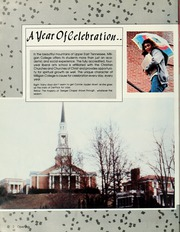 Page 6, 1987 Edition, Milligan College - Buffalo Yearbook (Elizabethton, TN) online yearbook collection