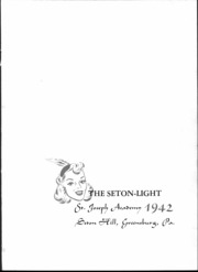 Page 3, 1942 Edition, St Joseph Academy - Seton Light Yearbook (Greensburg, PA) online yearbook collection