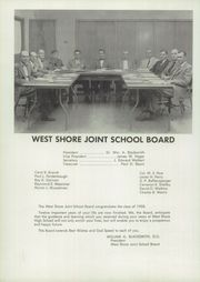 Page 12, 1958 Edition, West Shore High School - School Memories Yearbook (Harrisburg, PA) online yearbook collection