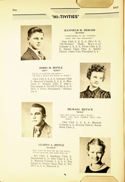 Page 12, 1937 Edition, Cressona High School - Hi Tivities Yearbook (Cressona, PA) online yearbook collection