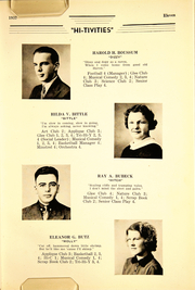 Page 13, 1937 Edition, Cressona High School - Hi Tivities Yearbook (Cressona, PA) online yearbook collection