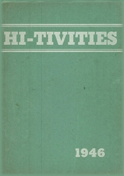 1946 Edition, Cressona High School - Hi Tivities Yearbook (Cressona, PA)
