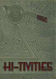 1952 Edition, Cressona High School - Hi Tivities Yearbook (Cressona, PA)