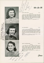 Page 16, 1944 Edition, West Lampeter Vocational High School - We La Hi Yearbook (Lampeter, PA) online yearbook collection