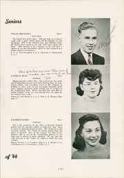 Page 17, 1944 Edition, West Lampeter Vocational High School - We La Hi Yearbook (Lampeter, PA) online yearbook collection
