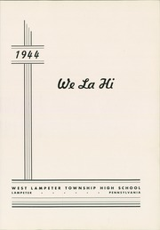 Page 5, 1944 Edition, West Lampeter Vocational High School - We La Hi Yearbook (Lampeter, PA) online yearbook collection