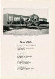 Page 7, 1944 Edition, West Lampeter Vocational High School - We La Hi Yearbook (Lampeter, PA) online yearbook collection