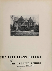 Page 5, 1944 Edition, Stevens School - Class Record Yearbook (Germantown, PA) online yearbook collection