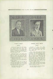 Page 14, 1928 Edition, Codorus High School - Glen Echo Yearbook (Glenville, PA) online yearbook collection