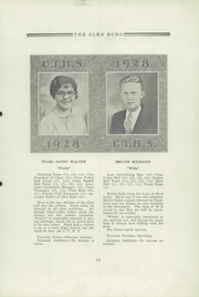 Page 17, 1928 Edition, Codorus High School - Glen Echo Yearbook (Glenville, PA) online yearbook collection