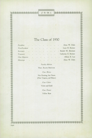 Page 10, 1930 Edition, Codorus High School - Glen Echo Yearbook (Glenville, PA) online yearbook collection