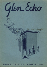 1937 Edition, Codorus High School - Glen Echo Yearbook (Glenville, PA)