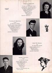 Page 15, 1947 Edition, Saint Michael High School - Michaelinian Yearbook (Pittsburgh, PA) online yearbook collection