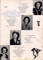 Page 17, 1947 Edition, Saint Michael High School - Michaelinian Yearbook (Pittsburgh, PA) online yearbook collection