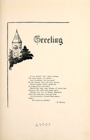 Page 9, 1918 Edition, Mansfield University - Carontawan Yearbook (Mansfield, PA) online yearbook collection