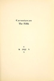 Page 17, 1922 Edition, Mansfield University - Carontawan Yearbook (Mansfield, PA) online yearbook collection