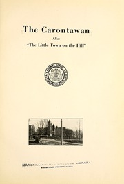 Page 9, 1923 Edition, Mansfield University - Carontawan Yearbook (Mansfield, PA) online yearbook collection