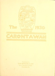 Page 7, 1930 Edition, Mansfield University - Carontawan Yearbook (Mansfield, PA) online yearbook collection