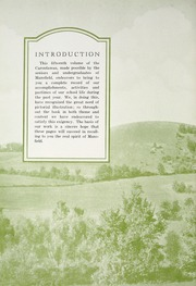 Page 12, 1932 Edition, Mansfield University - Carontawan Yearbook (Mansfield, PA) online yearbook collection