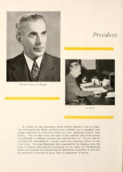 Page 12, 1945 Edition, Mansfield University - Carontawan Yearbook (Mansfield, PA) online yearbook collection