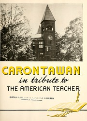 Page 7, 1945 Edition, Mansfield University - Carontawan Yearbook (Mansfield, PA) online yearbook collection