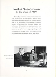 Page 15, 1949 Edition, Mansfield University - Carontawan Yearbook (Mansfield, PA) online yearbook collection